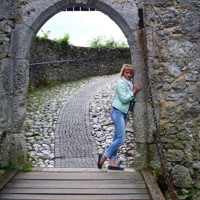 Так и тянет прислониться к истории...воспоминания  отпуск словения Замки Блед holiday tourism travel Slovenia Blad