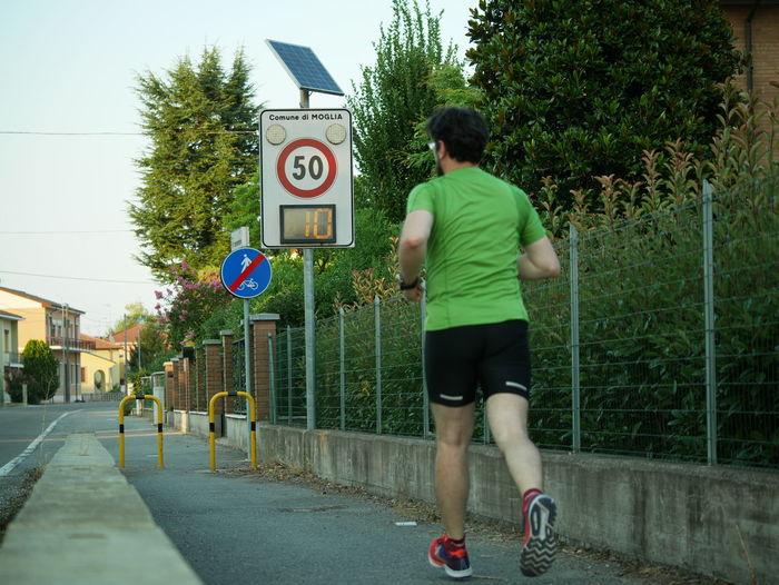 Run vs speed cameras 10 Running City Real People