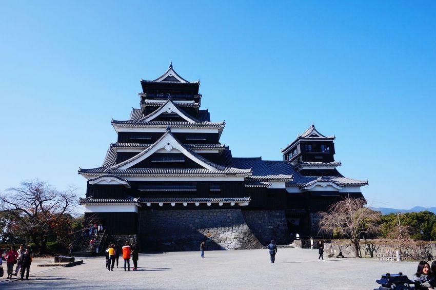 Kumamoto Castle Japan Traveling