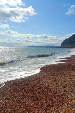 Beach Sea Water Nature Scenics Sky Horizon Over Water Summer Wave Landscape Tide English Channel English Beach English Beach Scene English Summer Pebble Beach Pebbles Pebbles On A Beach Pebblestones