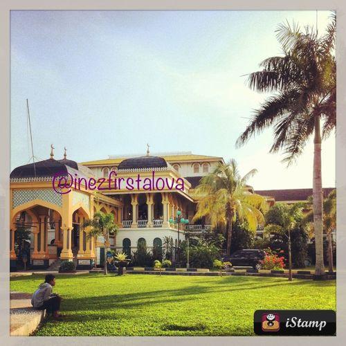 #istanamaimun #medan #sumatera #indonesia #mosque