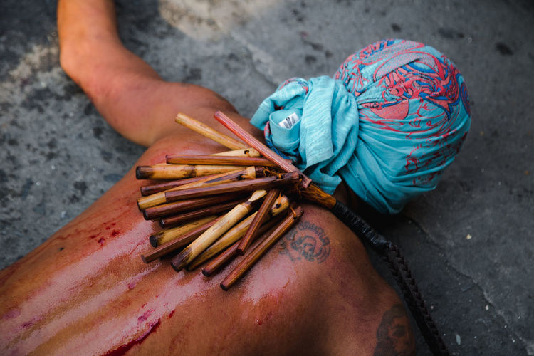 The holy week tradition in the Philippines (pinetensiya) Manila Tradition Blood Lookslikefilm Manilaphilippines Photography Sacrifice Streetphotography