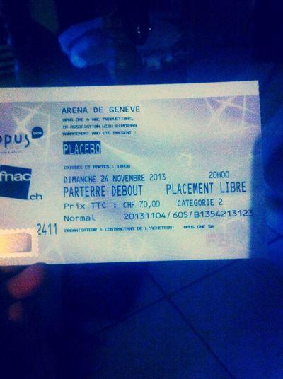 PLACEBO TONIGHT. Placebo Music Spectacles Amazing