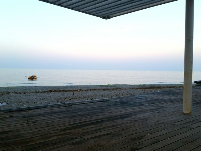Itsgettinghotter Feelinglonely Freshair Beforedawn Meditating Thoughtful Beachphotography Lovely View Durres Albania PhonePhotography