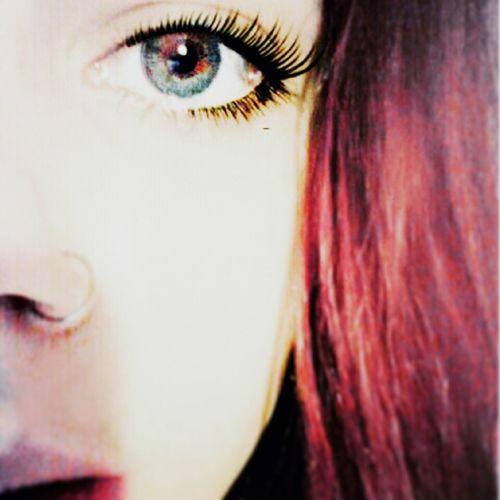 RedHAIR ❤ Eyes Piercing Look