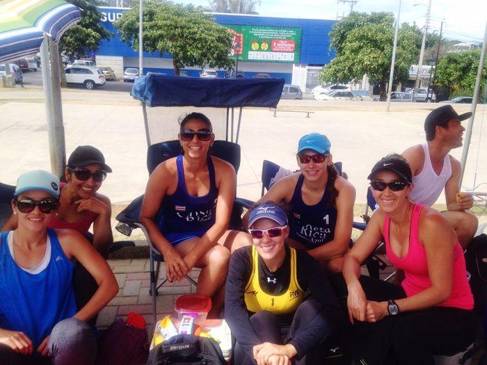 Costa Rica Beach Volleyball Friends My Passion Enjoying Life