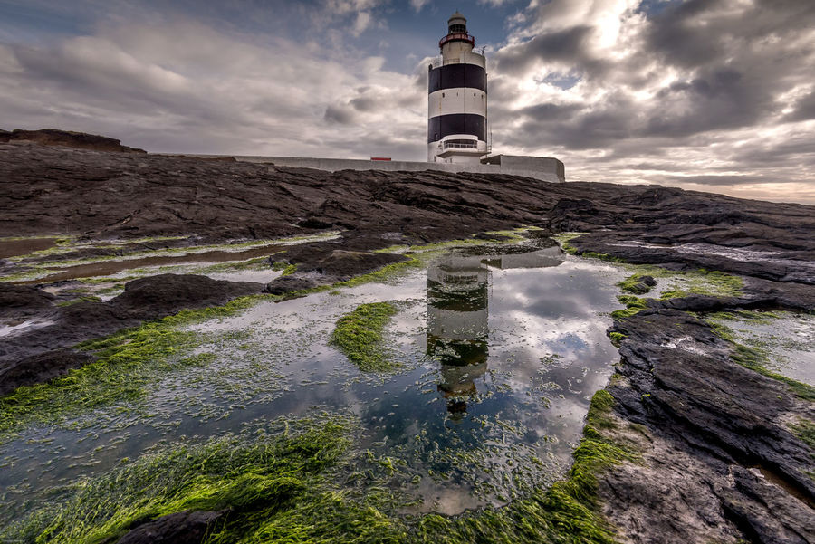 Hook Head Hook Head, Ireland Ireland Irland Lighthouse Lighthouse_lovers Reflection