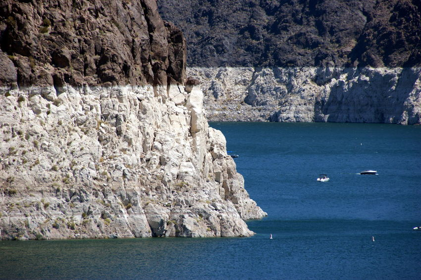 Boats Cliff Day Global Warming Lake Mead Mountain Outdoors Shortage Water WATER SHORTAGE Neighborhood Map