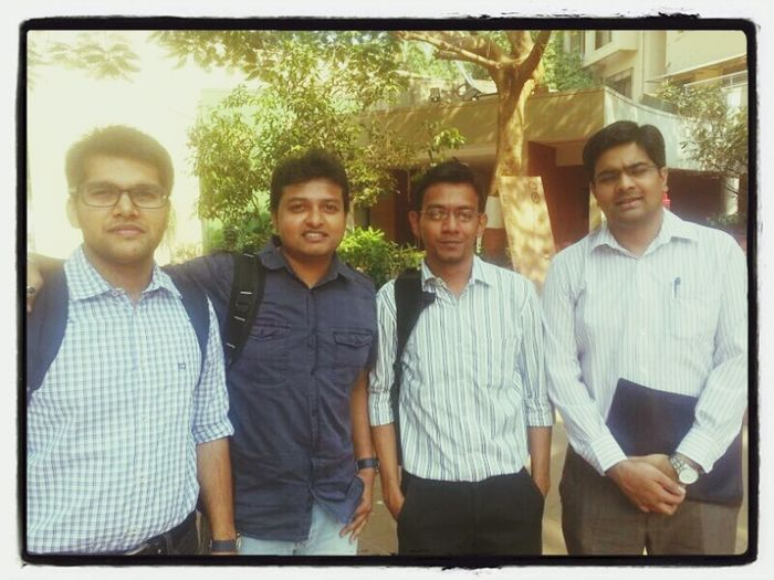 Pgpm Spjimr Check This Out Rishav, Dev, Sandeep and I