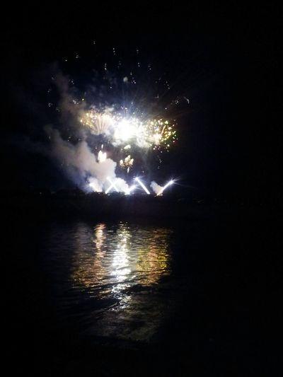 Nightphotography Sky Fireworks Night