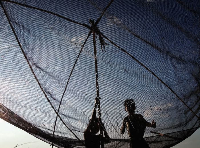 kids using net
