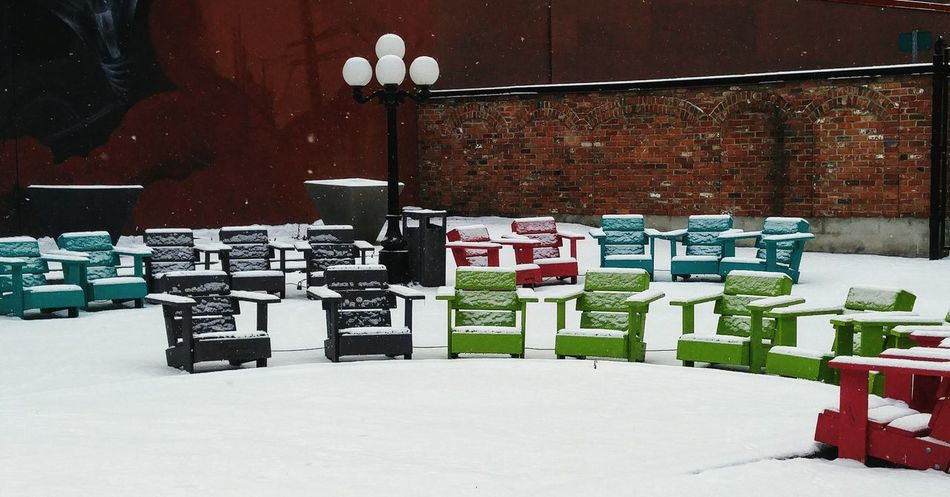 No People Large Group Of Objects Day Snow Outdoors Winter Is Coming downtown Ottawa, Ontario, Canada