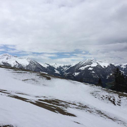 Snow Mountains Austria Hiking Piste Kitzbüheler Alpen