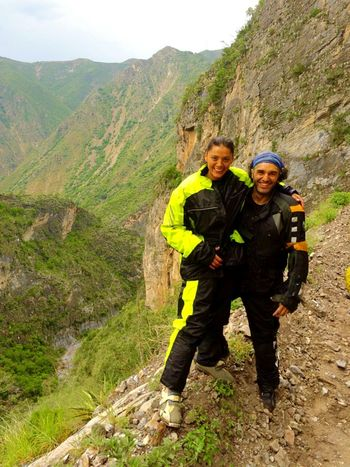 Adventure Exploration Traveling Motorcicle Travel My Boyfriend & I  Motorcycle SierraGordaQueretana Looking At Camera