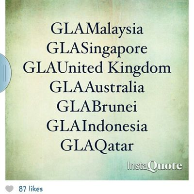 Proud to be under GLAM because we are going global!! Yeahhhh! Hanishaizi Glam Linazahrah Linazahrahdotcom greenleaders