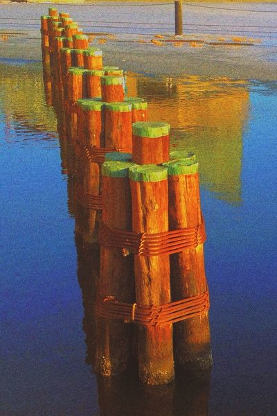 harbor log Photo Art Water_collection Watercolor Waterfront Colours Coloursplash Discoloration Cobalt Blue By Motorola Pastel Power