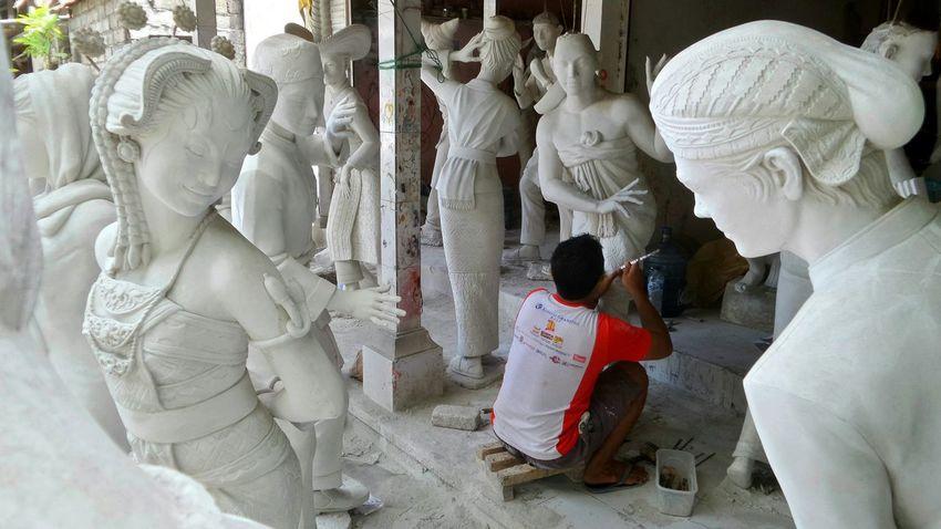 Bali - Mas Bali Ubud MAS Statues Bali 16:9 Jeanmart Verybalitrip Very Bali Trip Thestreetphotographer2016eyeemawards