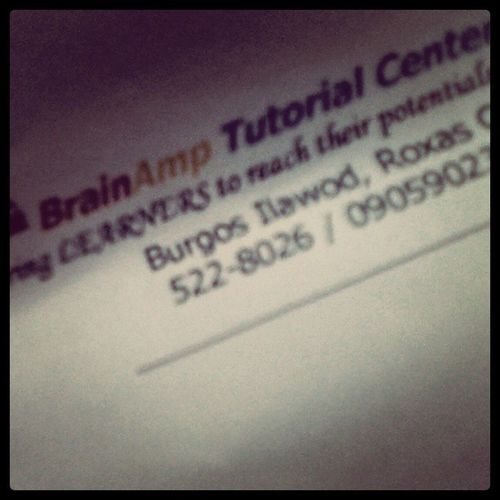 Ay kay late ko ya. Sa May 8 nako mastart. Hahahalol. :)) BrainAmp Late Brainamp Review