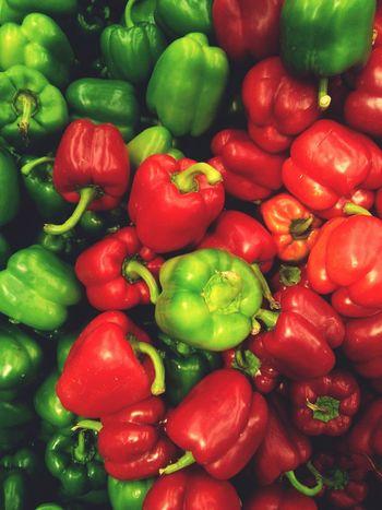 Pimento Piments Pimenton Piment Capsicum Pepper Peppers Salad Salada Red Green