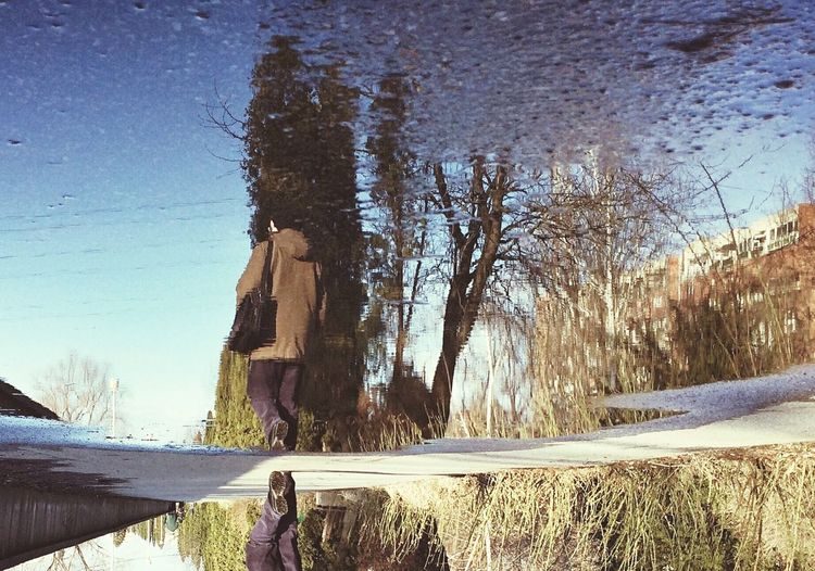 Walking by (Edited with EyeEm 5.0)... Made In Romania Relaxing Eye4photography  Traveling Reflected Glory Streetphotography Taking Photos EyeEm Best Shots Rule Of Thirds Nature