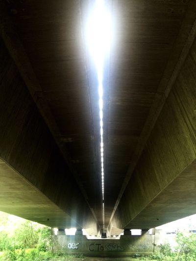 Bridges Brücke Autobahnbrücke Personal Perspective Fluchtpunkt Hamburg Harbour Harburg