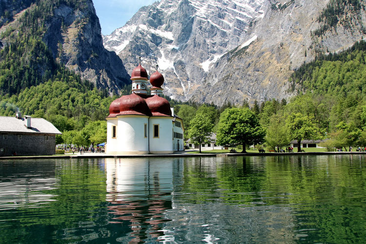 Bavaria Beauty In Nature Day Green Color Idyllic Königssee Lake Landscape Mountain Mountain Range Nature Nature Porn No People Non-urban Scene Outdoors Reflection Remote Rippled Scenics St. Bartholomä Tranquil Scene Tranquility Tree Water Waterfront