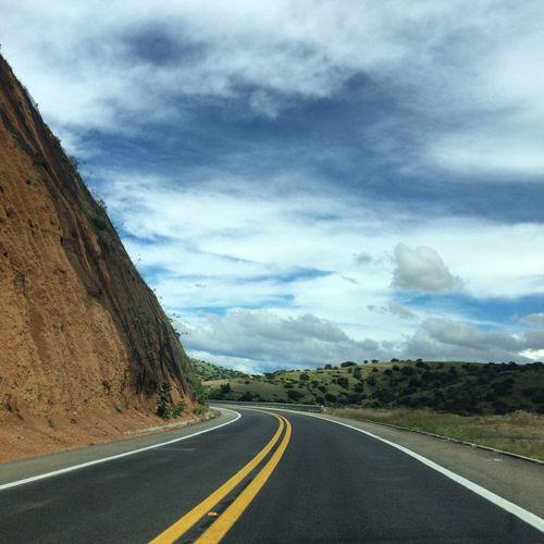 Road Road Marking Transportation The Way Forward Dividing Line Asphalt Mountain