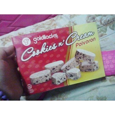 My Favorite ♥♥♥ CookiesNcream Polvoron Goldilocks ♡