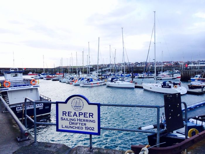 Check This Out Scotland Scenery Beautiful Anstruther docks, Fife, Scotland