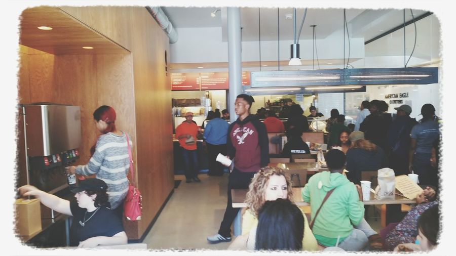 Invite only event at Chipolte