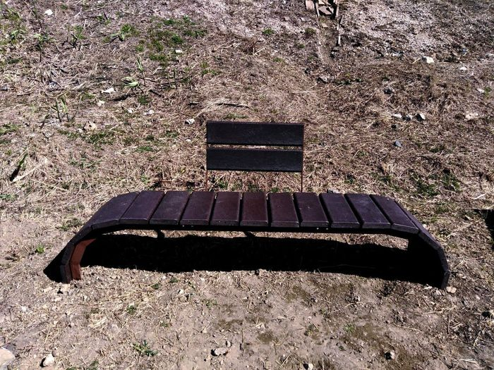Made with recycled plastic. Absence Geometric Shape Walking Around Taking Pictures Long Shadow - Shadow Shadow And Light Photographing Exploring ExploreEverything Minimalism Bench Focus On Shadow Empty