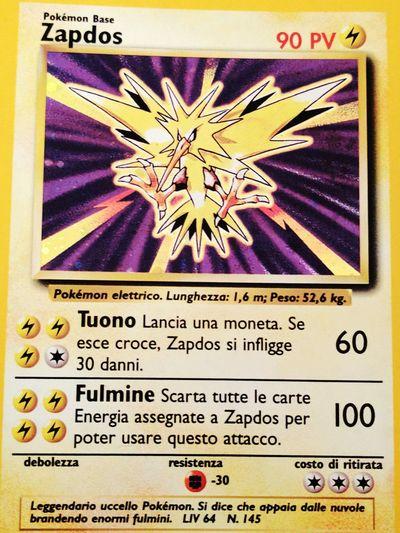 Pokémon Card Vintage Infanzia Phography Story Roman