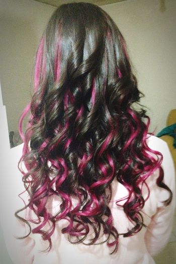 My Hair That's Me Long Hair Curly Hair Fucsiahair Enjoying Life Taking Photos Hanging Out I Love It ❤