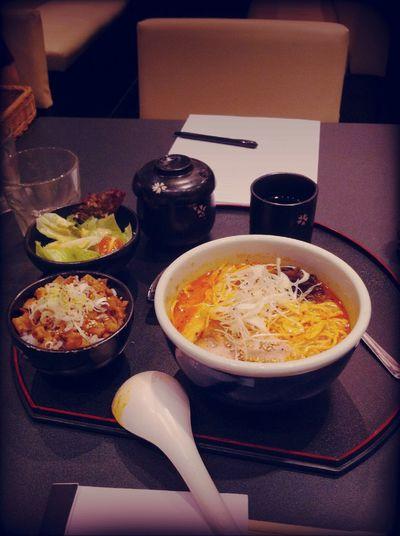 Dinner at Hokkaido Ramen Santouka, Tokyo Street, Pavilion Dinner