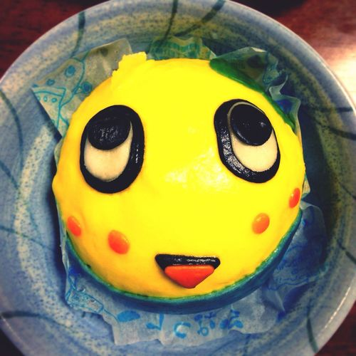 look what i ate today :) Funassyi Hungry Japan Relaxing