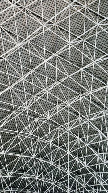 ceiling pattern Zagreb Zagreb, Croatia Croatia EyeEm Best Shots EyeEm European  Europe White Blackandwhite Black Grey Full Frame Close-up LINE Triangle Geometric Shape Architectural Design Architectural Detail Abstract Backgrounds Architecture And Art