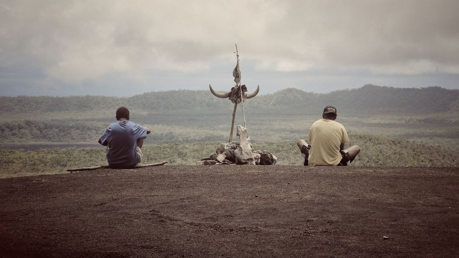 What sitting on a volcano in Vanuatu looks like Hanging Out Relaxing People Photography EyeEm Best Shots Snapshots Of Life Enjoying Life People Eye4photography  Volcano Traveling