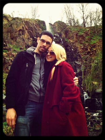 Gavin and I took my vintage coat to the forest. What a lucky coat Enjoying Life Couplesthang My Planet Is Beautiful