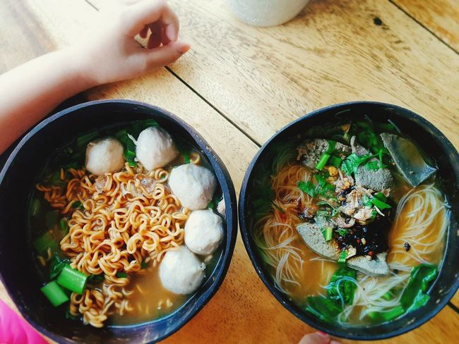 Noodle soup Thai style-pork Noodles Thai Noodle Style Thai Noodles Lunch Time! Yummy Food Delicious ♡ Thai Food Thaistagram
