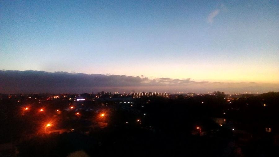 Sunrise Silhouette Sky Landscape Atmospheric Mood Romantic Sky