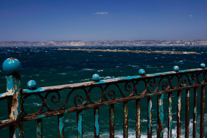 Marseille, Provence, France Beach Blue Blue Sky Cityscape Cityscapes Coastline France Marseille No People Outdoors Provence Scenics Sea Shore Travel Travel Destinations Traveling Water
