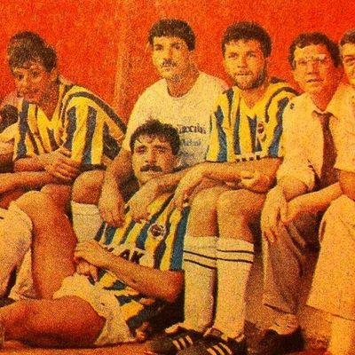 İsmail Kartal, Müjdat Yetkiner, Aykut Kocaman ve Aziz Yıldırım. Fenerbahce  1907 Sarilacivert Istanbul