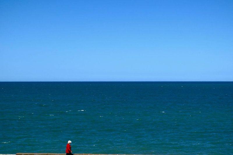 Coastal walk.