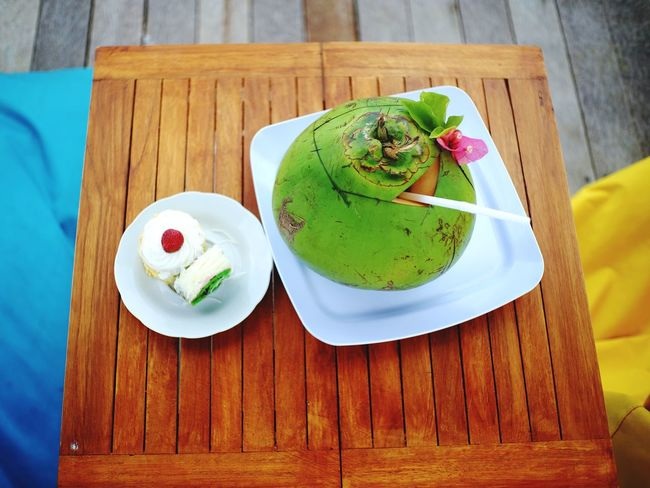 Coconut water Explorebali Tourism Traveller Pandawabeach Infobali Cafe Menu Coconut Coconuts Coconutwater Frozen Food Ice Cream Matcha Tea Dessert Drink Wood - Material Green Tea Sweet Food Food And Drink Prepared Food Pie Whipped Cream Puff Pastry Dessert Topping Cupcake Holder Cheesecake Serving Size Chia Seed Frozen Sweet Food
