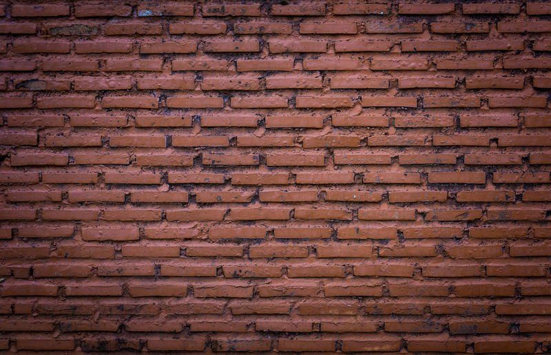 Brick Wall Wall Architecture Backgrounds Brick Wall Brick Wall Background Brick Wall Copy Space Brown Close-up Day Full Frame Indoors  No People Pattern Textured