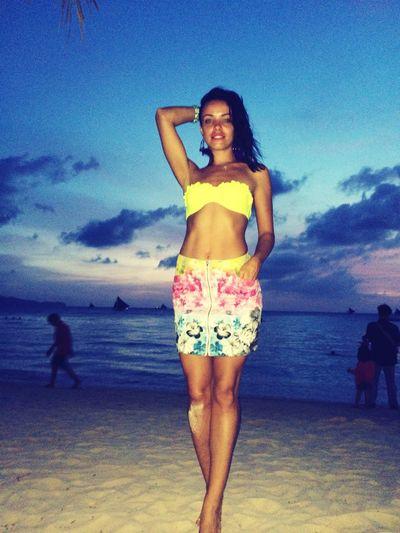 Boracay Beach Beauty Sea Enjoying The Sun Sunrise Today's Hot Look Check This Out Enjoying Life IRINAKOLPAKOVA