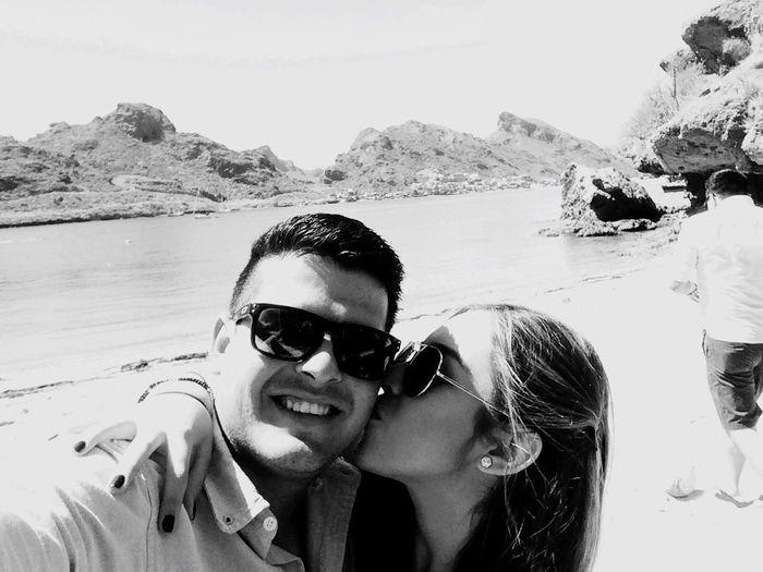 Con mi novia que tanto amo!!!