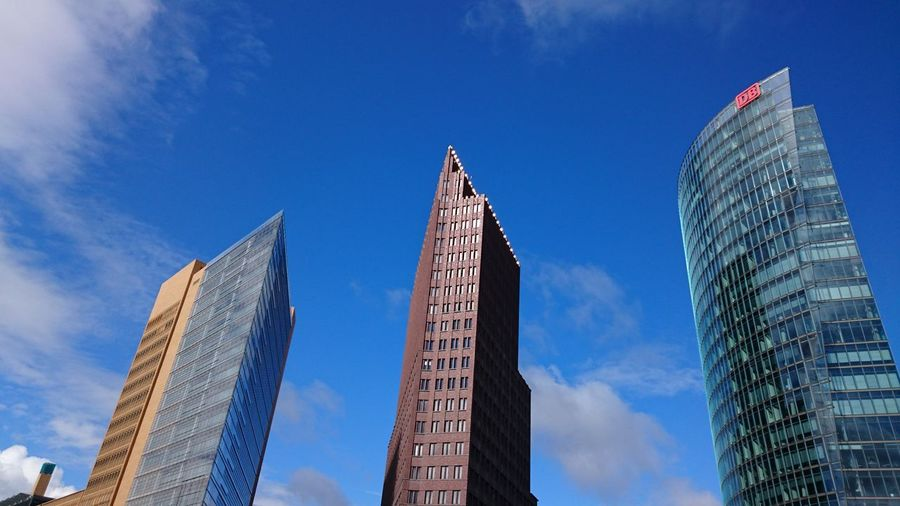 Kein Filter nur Foto Purist No Edit No Filter Potsdamerplatz Three Is The Magic Number Architecture_collection Architecturelovers Berliner Ansichten Berlinstagram
