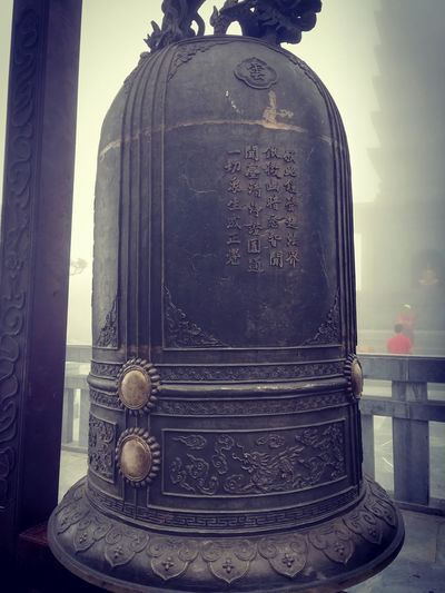 ring the bell EyeEm Selects EyeEm Bell Buddhist Temple Buddhism Bell Antique Old-fashioned Statue Close-up Memorial Historic