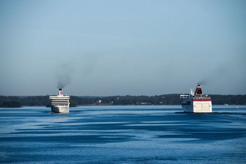 Archipelago Baltic Sea Cruise Cruise Ship Nautical Vessel No People Ostsee Outdoors Schärengarten Schäreninseln Sky Skärgård